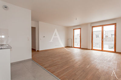 Appartement de 65m²  avec un grand balcon de 17m²
